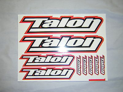Talon Stickers / Decal Sheet. (9 stickers) . New