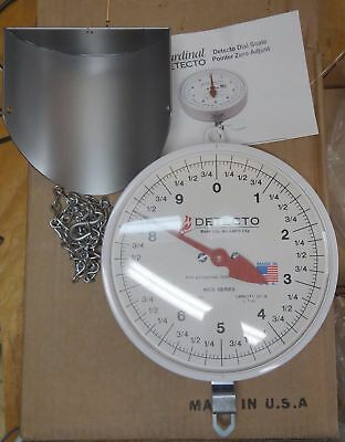 Detecto Mcs-20P Scoop Scale 20Lb. Capacity --  1 Ounce Increments