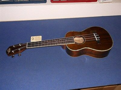 NEW Oscar Schmidt OU6W Wide Neck Tenor Ukulele, Koa
