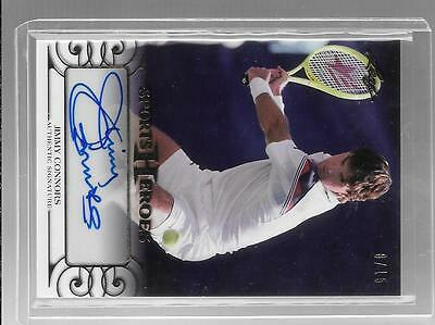 Jimmy Connors 2016 Leaf Sports Heroes 8/15 Auto