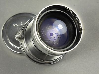 Leica 5cm (50mm f2) f2 Summitar LTM L39 (includes non working Leica IIIF)