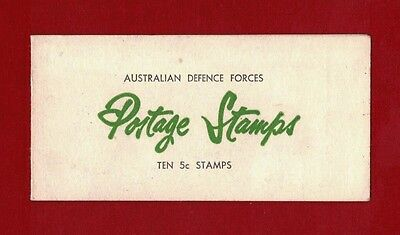 1967/8 Australia QE II Defence Forces booklet 5c blue 8 stamps, only $25 price