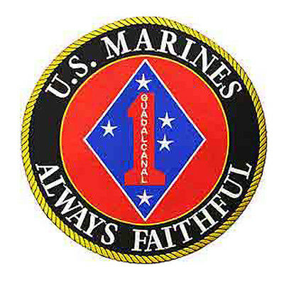 USMC MARINE CORPS 1st MARINES LARGE EMBROIDERED PATCH 10 INCHES