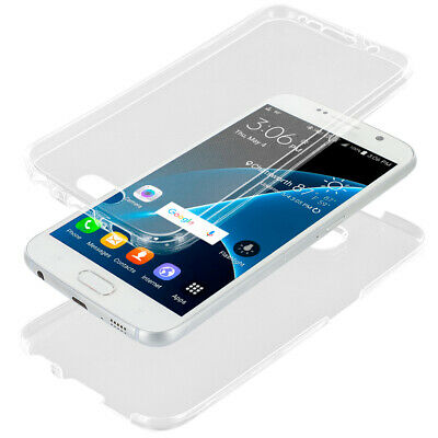 CLEAR TPU FULL BODY FRONT BACK CASE Rubber TRANSPARENT Skin Cover FOR PHONES