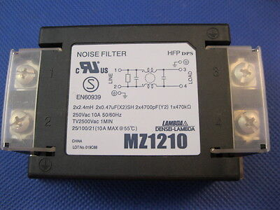 Nemic-Lambda Noise Filter MBZ-1210 Used (646A)