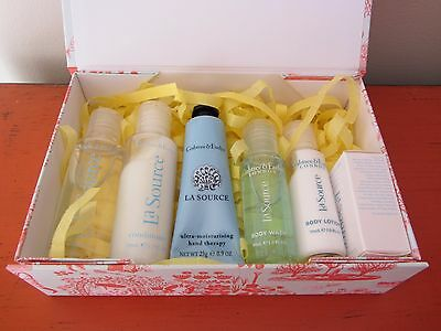 Crabtree & Evelyn LA SOURCE Hand Therapy Body Wash & Lotion Shampoo Conditioner