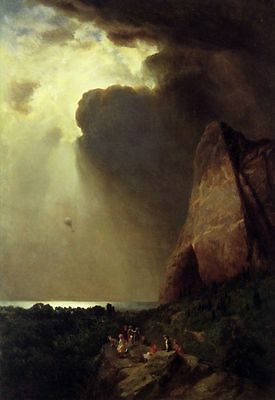 Oil Painting repro The Lost Balloon by William Holbrook Beard