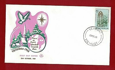 1968 Australia Christmas two unaddressed covers clean