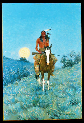 Remington Frederic The Outier Giclee Canvas Print