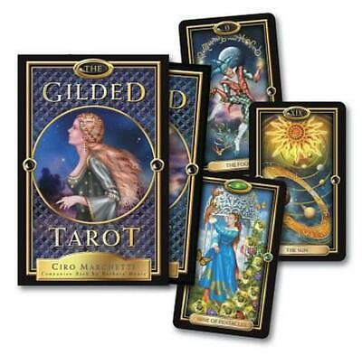 The Gilded Tarot by Barbara Moore Paperback Book (English)