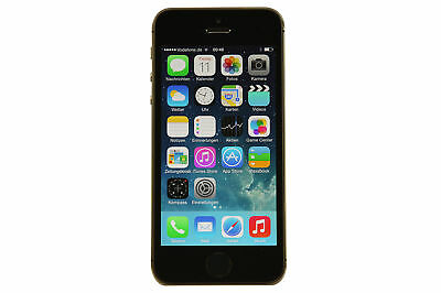 Apple iPhone 5s 16 GB Spacegrau (Ohne Simlock) - Top Zustand - AKTION