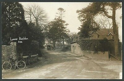 Lower Basildon Berkshire Near Reading c1920s Real Photo Postcard