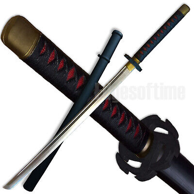 Polypropylene Rubber Martial Arts Samurai Training Katana Sword Larp Cosplay