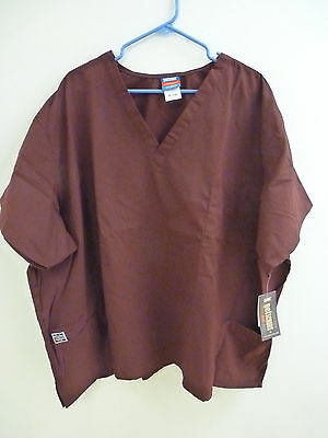 GelScrubs Unisex Medical Scrub Shirt Top 6891 Size XS to 5XL Many Colors