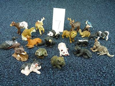 Land And Sea Collectables Nature Series Animals Lot of 20 (a3100)