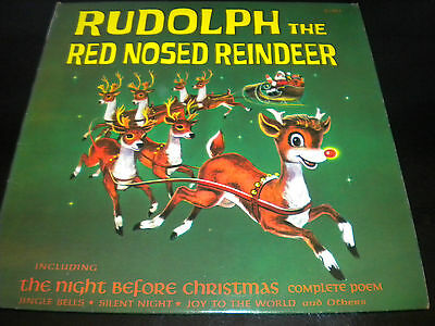 Burl Ives Rudolph The Red Nosed Reindeer Vinyl New
