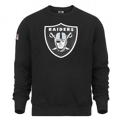 Oakland Raiders New Era NFL Team Logo Crew Sweatshirt