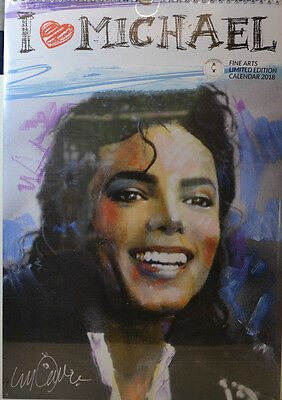 Michael Jackson  Painting Kalender 2018 (Dream) Neu