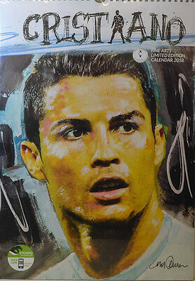Ronaldo Painting   Kalender 2018 (Dream) Neu