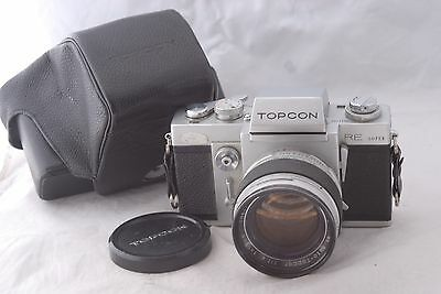 Topcon RE Super Film Camera with 58mm f/1.4 in Excellent+ Cond.