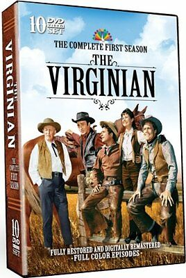 The Virginian: The Complete First Season 1 (DVD, 10-Disc set) - Brand New!!