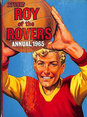 tiger ROY OF THE ROVERS annual 1965, Good Condition Book, , ISBN