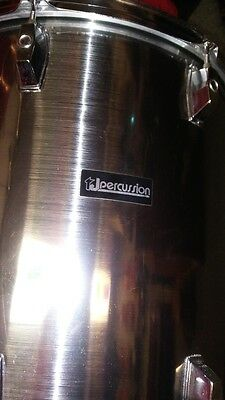 16 X 16 Floor Tom Metalic Silver / Smokey Chrome With Tone Control