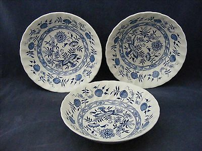 """3 Woods & Sons Old Vienna Ironstone Coup Soup 6 5/8"""""""