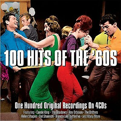 Various-100 Hits Of The 60`s  (Uk Import)  Cd New