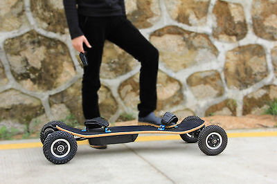 Electric Skateboard Balance Off-Road Scooter 4 Wheel Surfboard + Wireless Remote
