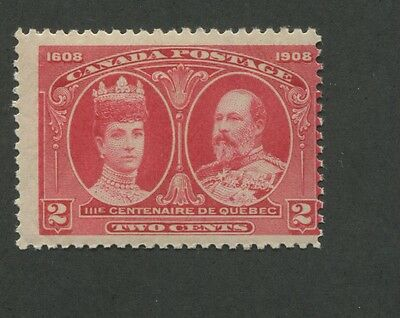 Canada 1908 King Edward VII & Queen Alexandra Average NH 2c Stamp #98