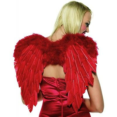 Cupid Costume Kit Red Wings Bow & Arrow Valentine's Day Halloween Fancy Dress
