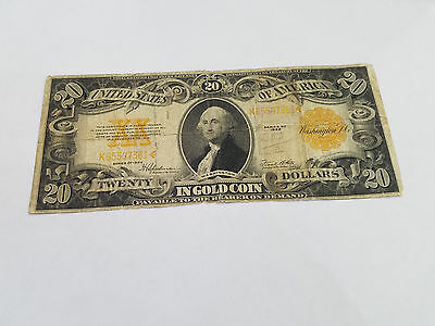 United States Large  $20 1922 Gold Certificate Banknote - 1997