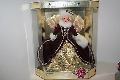 1996 Happy Holidays Barbie Special Edition Doll NEW
