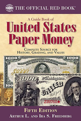 Guide Book of United States Paper Money ,5th Edition - #7894844103