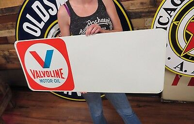 Valvoline Lubrication Gas Oil Station Tin Sign NOS Advert IN BOX