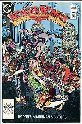 Wonder Woman #30 Perez Dc Comics 1989 Nm-
