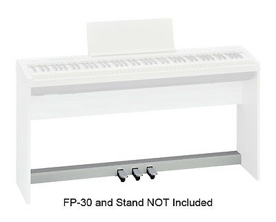 Roland KPD-70 Three Pedal Unit for FP-30 Piano, White (NEW)