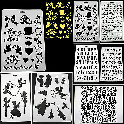 N Layering Stencils Templates for Scrapbooking Drawing Home Decor Card DIY Gifts