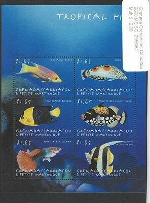 Grenada Grenadines 2000 MS SG 2956/61 MNH - Tropical Fish