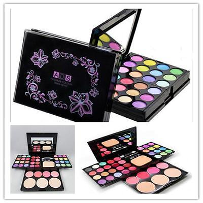 Fashion 24 Full Color Pro Makeup Set Kit EyeShadow Lip Gloss Palette Blusher DT
