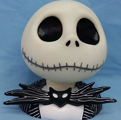 New The Nightmare Before Christmas Jack Coin Pot Coin Bank Figure 17cm