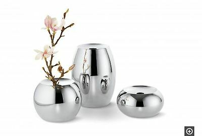 Philippi Dot Vaso Vase Acciaio Inox Stainless Steel Design : Susanne Uerlings