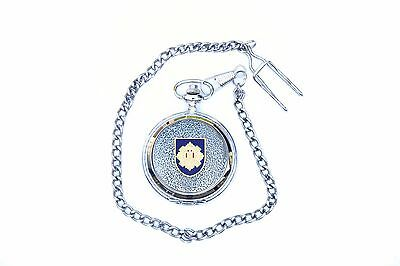 Royal Scots Army Regiment Pocket Watch Gift Boxed  FREE ENGRAVING BKG32