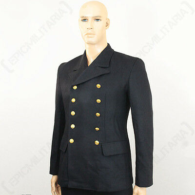 WW2 German Kriegsmarine Sailor Wool Tunic - Repro Navy Blue Shirt Top Jacket New