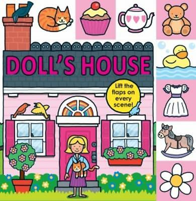 Doll's House (Lift-the-Flap Tab Books), 1849158665, New Book