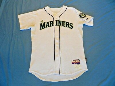 71e09685dc7 Mark Lowe 2009 Seattle Mariners game used jersey MLB authenticated