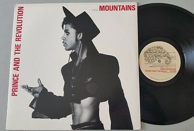 "PRINCE ""MOUNTAINS (EXTENDED VERSION)"" USA 12"" vinyl pressing"