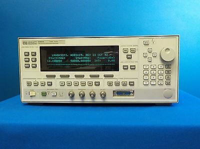 Agilent 83650A w/ Option 004 Synthesized Sweeper, 10 MHz to 50 GHz