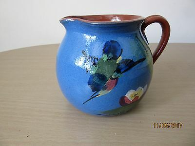 Torquay Kingfisher / Devon Pottery Jug